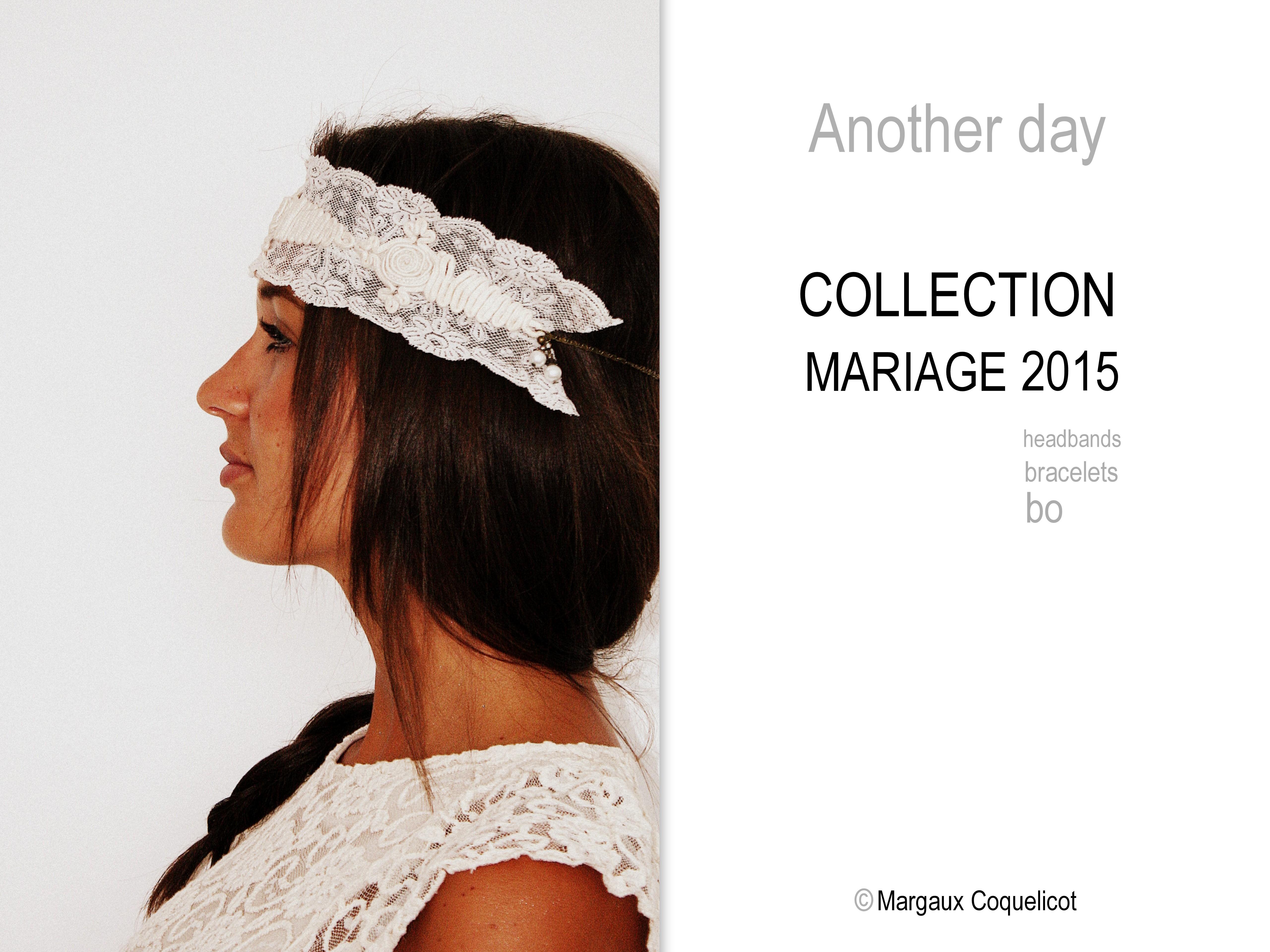 Les Nouvelles créations Bijoux de Mariage 2015, Margaux Coquelicot